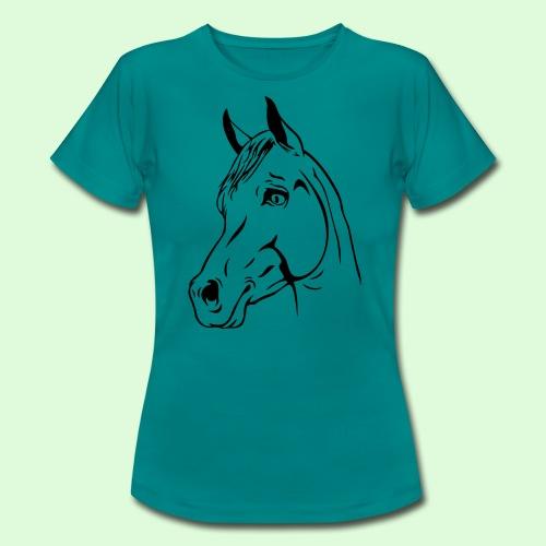 tête de cheval - T-shirt Femme