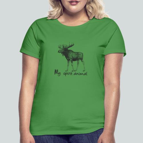 L'élan est mon animal totem - T-shirt Femme