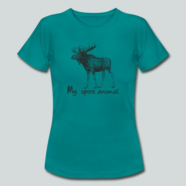 L'élan est mon animal totem