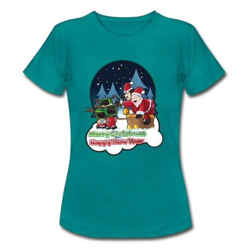 Merry Christmas And Happy New Year - Women's T-Shirt