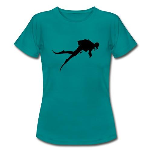 Taucher - Frauen T-Shirt