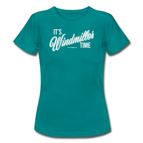 Windmiller Time Classic Logo - Women's T-Shirt