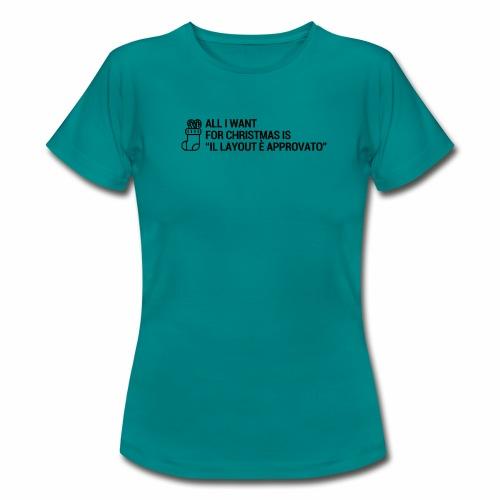 LAYOUT - Maglietta da donna