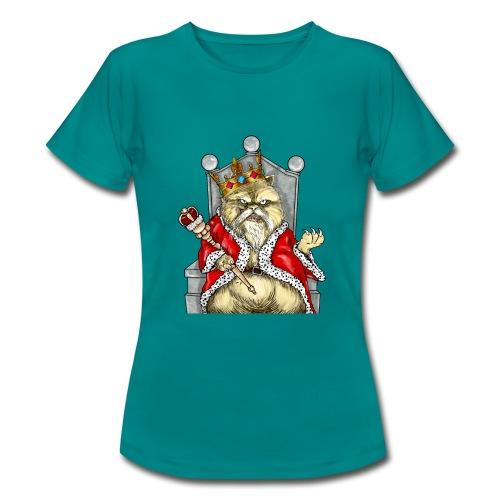 T-shirt - Crazy Cat - T-shirt Femme