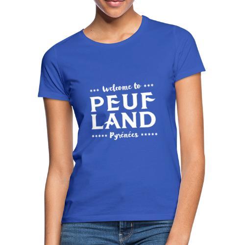 Peuf Land Pyrénées - White - T-shirt Femme