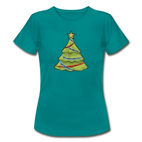 Christmas tree, tree, christmas, new year - Women's T-Shirt