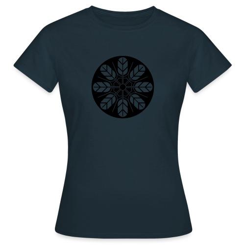 Inoue clan kamon in black - Women's T-Shirt