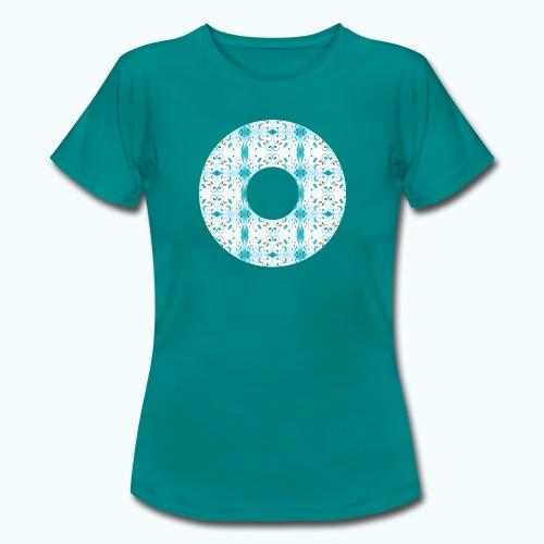Hippie flowers donut - Women's T-Shirt
