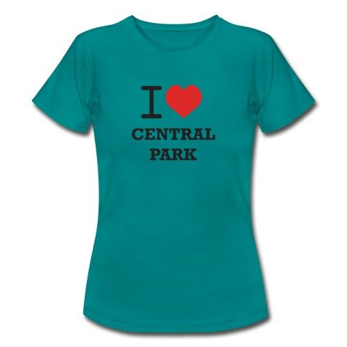 keskuspuisto - Naisten t-paita