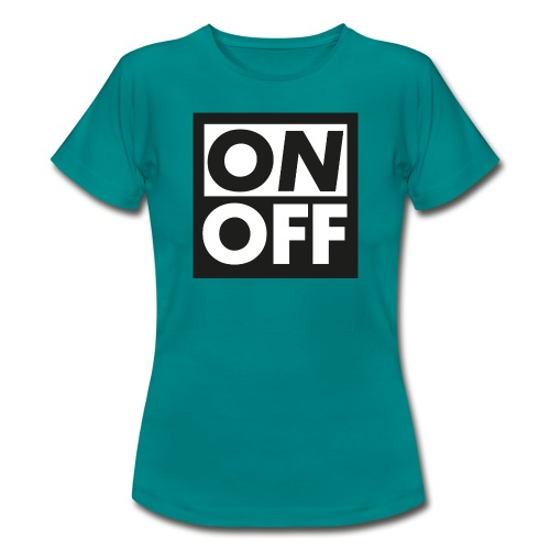 Logotype On Off Etienne Robial - Dame-T-shirt