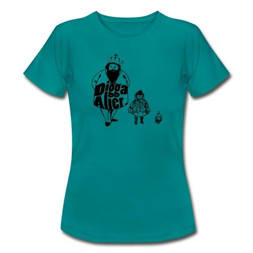 Die 3 lustigen Zwei. - Frauen T-Shirt
