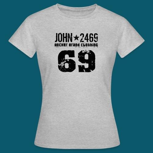 john 2469 numero trasp per spread nero PNG - Maglietta da donna