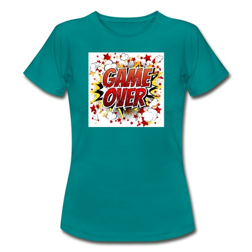 42029218 game over co mic la expresio n de dibujos - Camiseta mujer