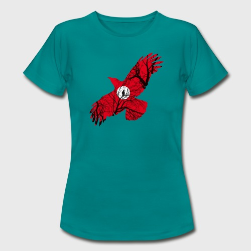 Corbeau Rouge - T-shirt Femme