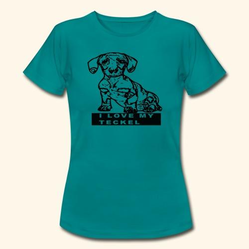 Teckel - T-shirt Femme