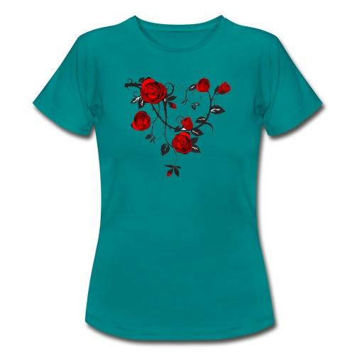 Rosenranken - Frauen T-Shirt