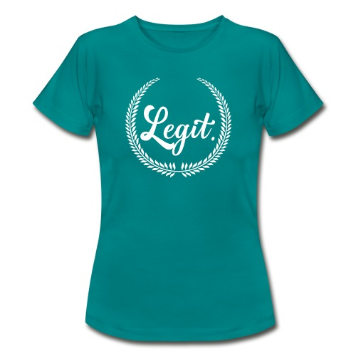 legit white - Vrouwen T-shirt