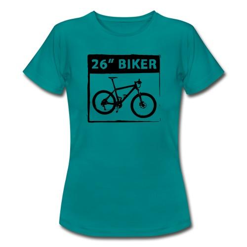 26 Biker - 1 Color - Frauen T-Shirt