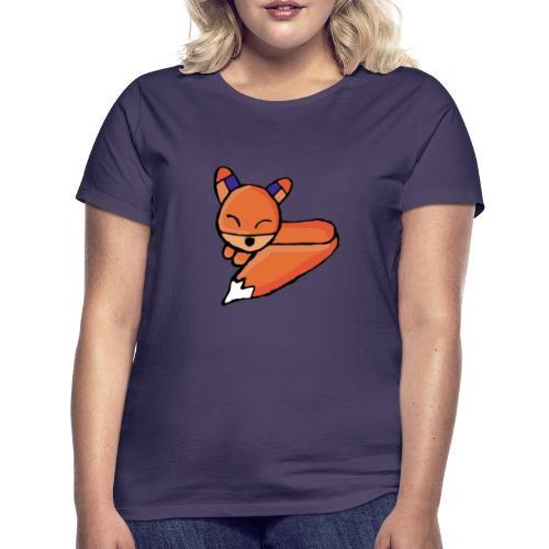 Edo le renard - T-shirt Femme