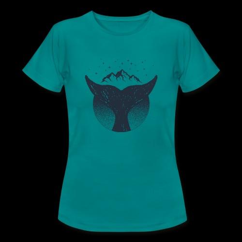 Save the whale - T-shirt dam