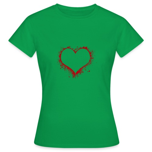 Herz/Heart - Frauen T-Shirt