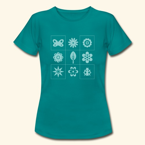 tateti fauna y flora - Camiseta mujer