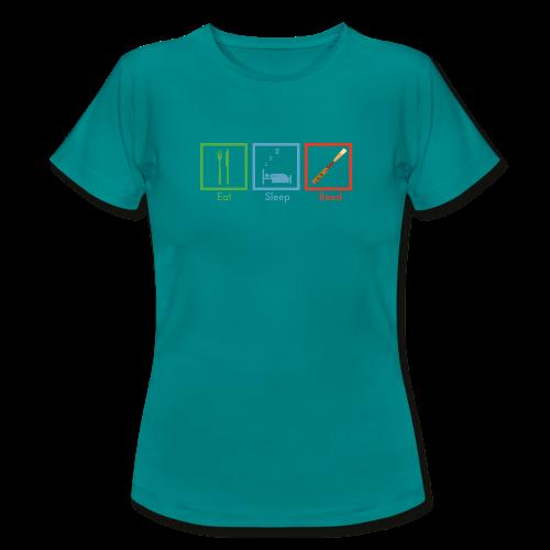 reed reed reed - Frauen T-Shirt
