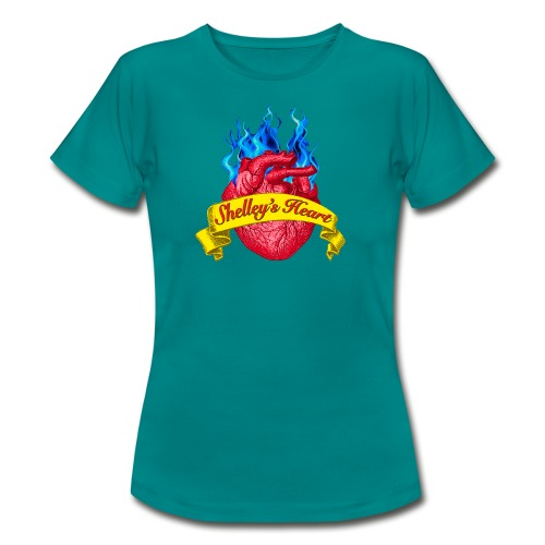 Shelley s Heart Logo - Women's T-Shirt