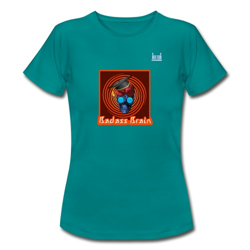 Graduation Day - Badass Brain - Women's T-Shirt