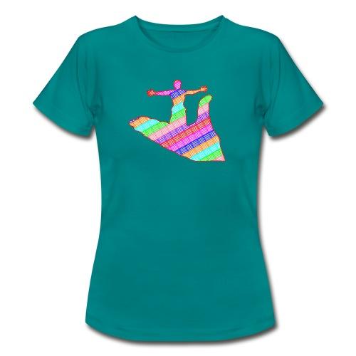 main - T-shirt Femme