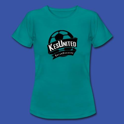 Zwart/Wit KesUnited - Vrouwen T-shirt