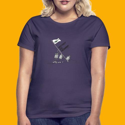 Dat Robot: Destroy War Light - Vrouwen T-shirt