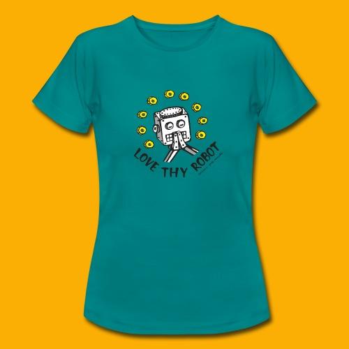 Dat Robot: Love Thy Robot Series Light - Vrouwen T-shirt
