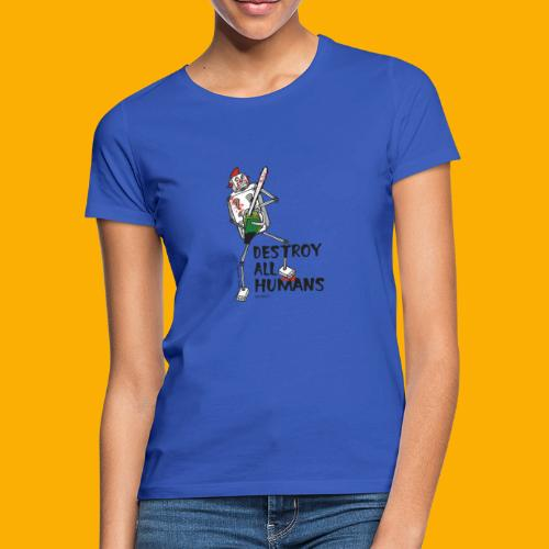 Dat Robot: Destroy Series Killer Clown Light - Vrouwen T-shirt