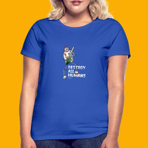 Dat Robot: Destroy Series Killer Clown Dark - Vrouwen T-shirt