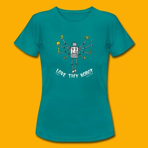 Dat Robot: Love Thy Robot Shiva Dark - Vrouwen T-shirt