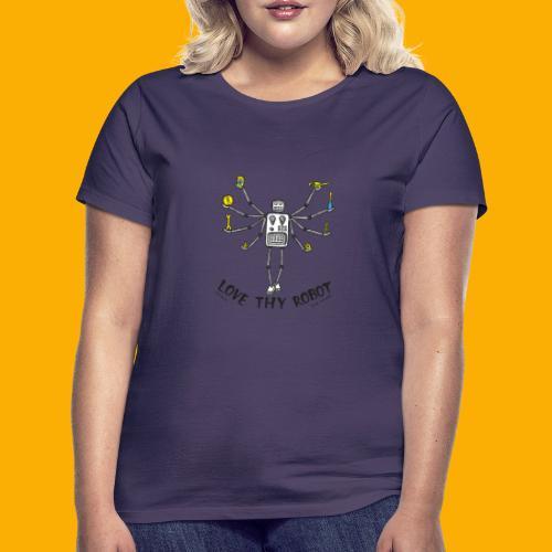 Dat Robot: Love Thy Robot shiva Light - Vrouwen T-shirt