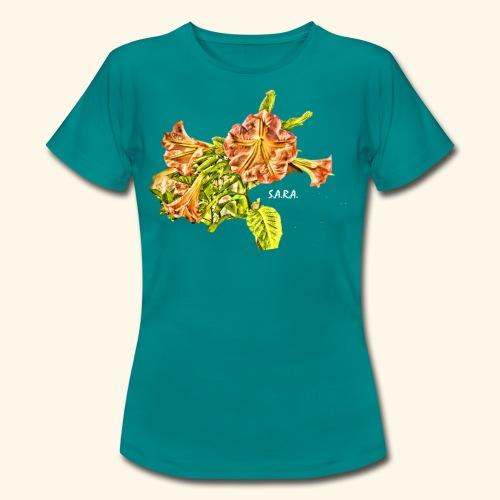 Trompetenbaum Blüten von S.A.R.A. - Frauen T-Shirt