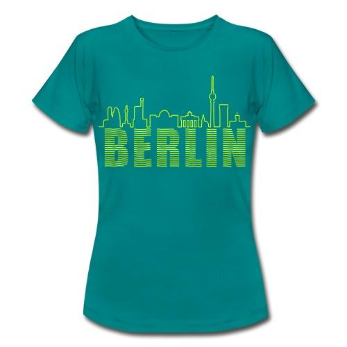 Skyline Berlin - Frauen T-Shirt