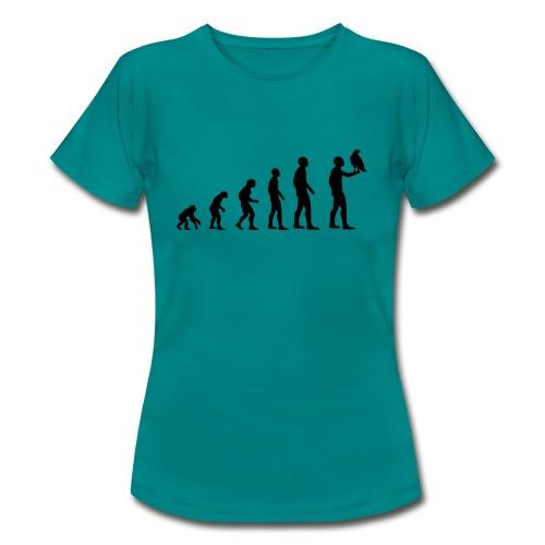 Evolution Falkner - Frauen T-Shirt