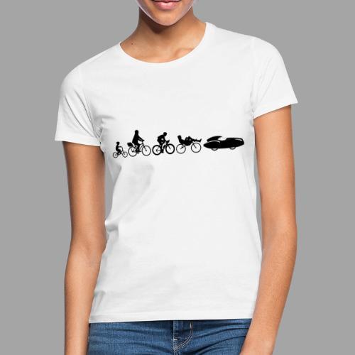 Bicycle evolution black Quattrovelo - Naisten t-paita