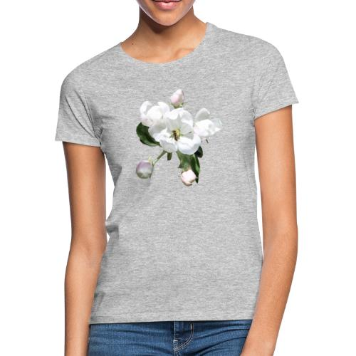 Omenankukka ja kukkakärpänen - Naisten t-paita