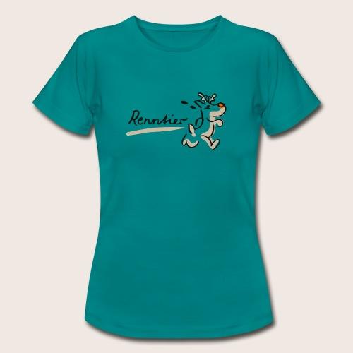 Runtasia Renntier - Frauen T-Shirt