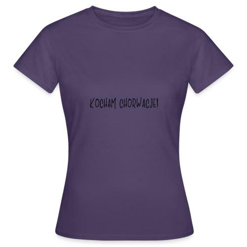 Kocham Chorwacje - Koszulka damska