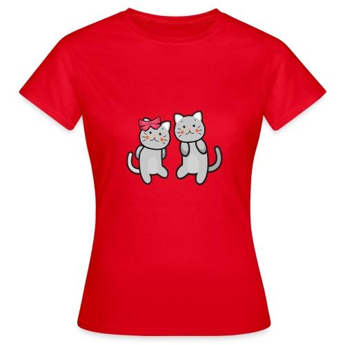 Kotki - Koszulka damska