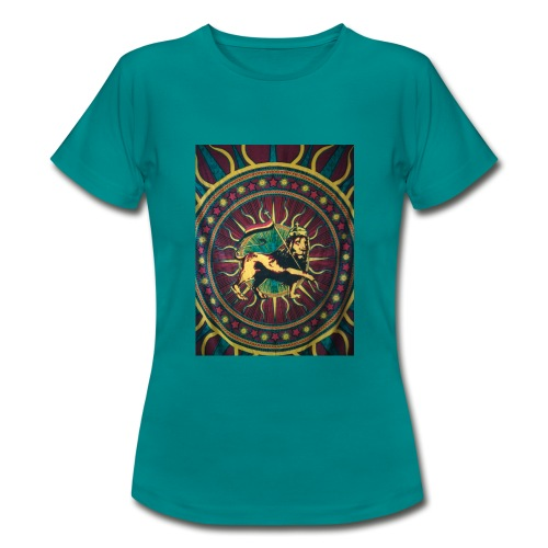 Rasta lion - Frauen T-Shirt