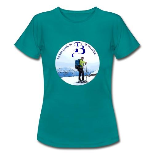 Logo cartone ciaspole - Maglietta da donna