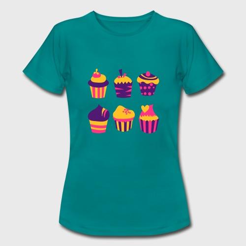 Cupcakes bien-être - T-shirt Femme