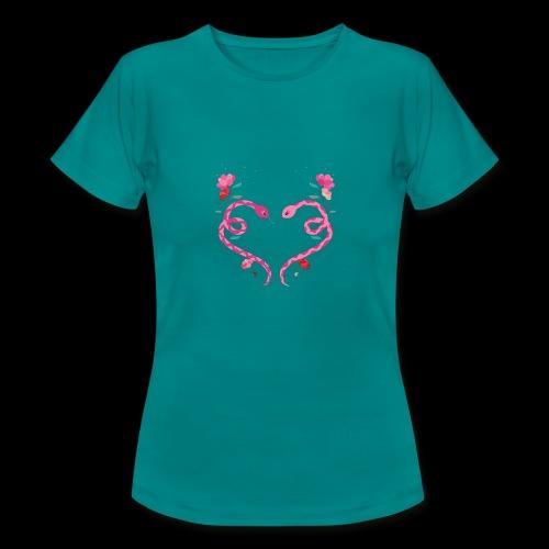 Coeur de serpents - T-shirt Femme