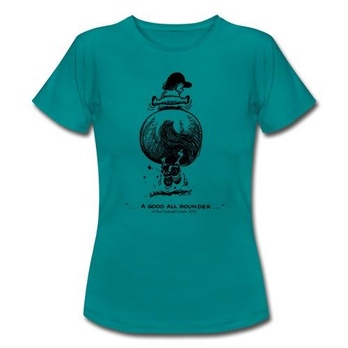 Thelwell Cartoon Pony Galopp - Frauen T-Shirt